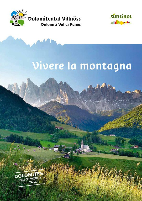 Val di Funes: experience the mountains - cover