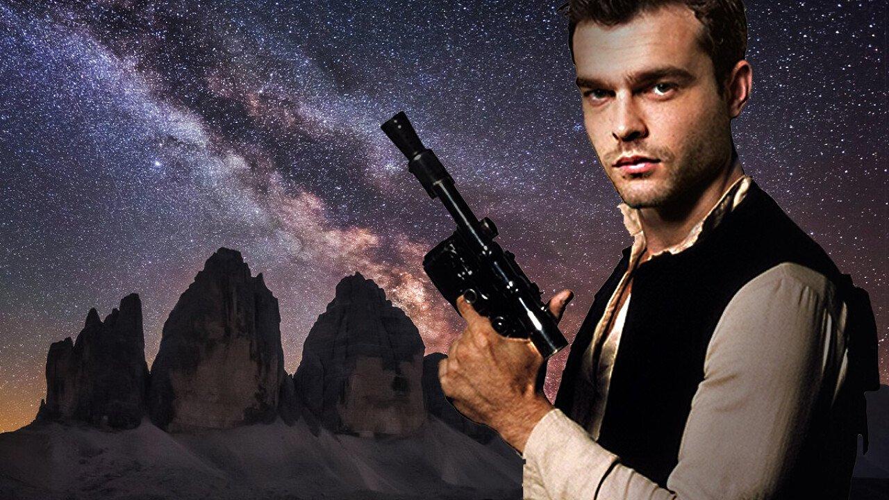 """""""Solo: A Star Wars Story"""" girato sulle Dolomiti UNESCO"""