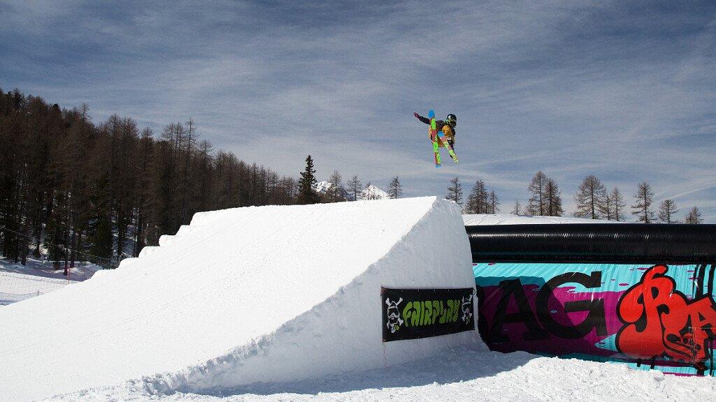 Snowpark sulle Dolomiti - cover