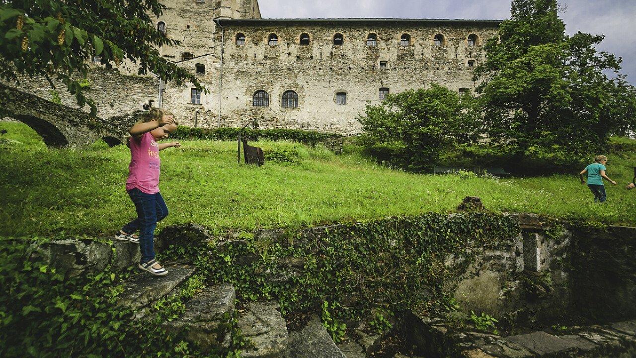 Il Castello di Pergine in Valsugana in Trentino