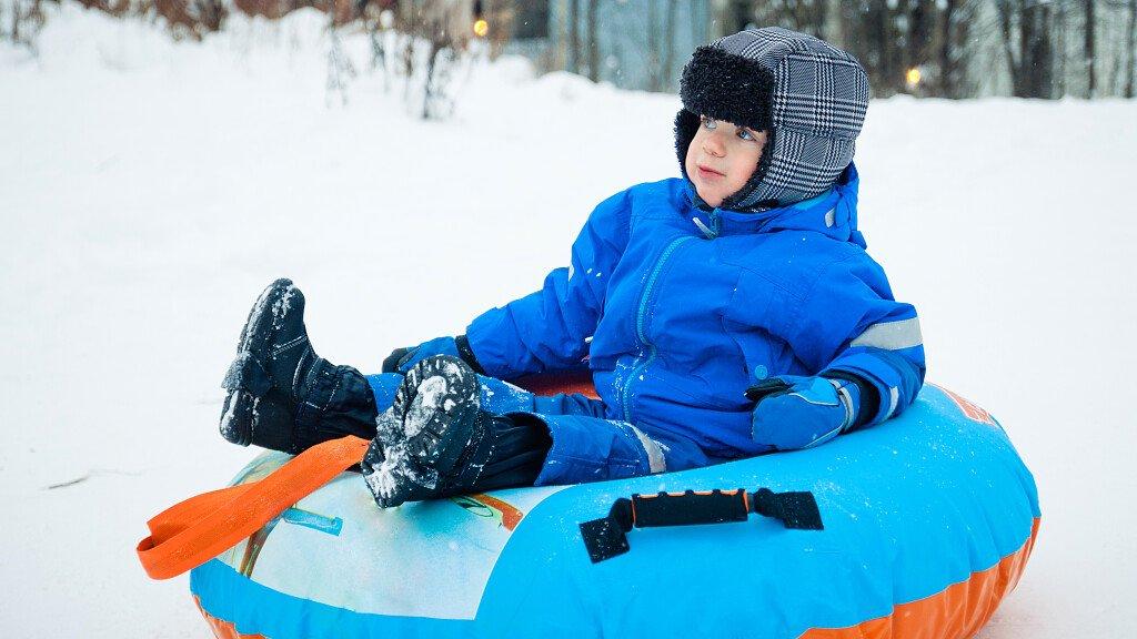 Snow Tubing im Fassatal - cover