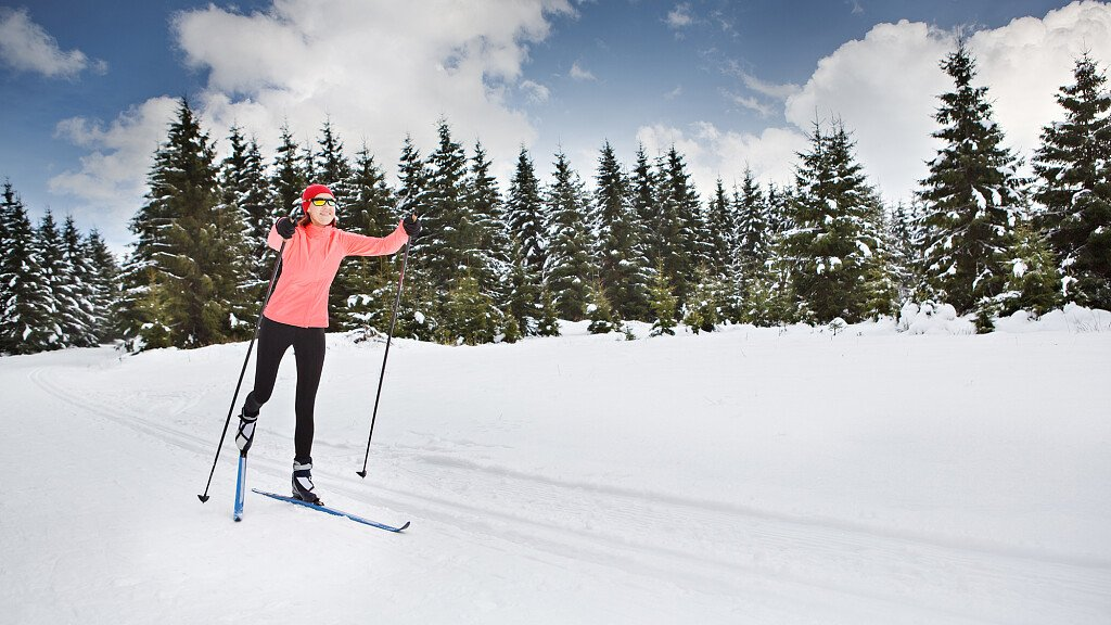 Cross-country skiing in Val Comelico  - cover