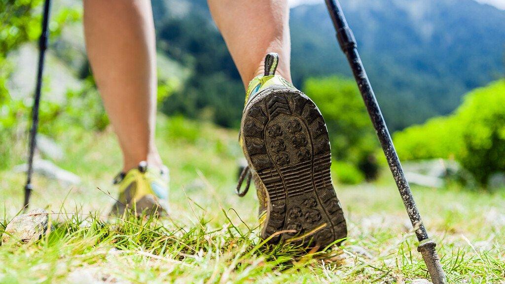 Nordic Walking in den Dolomiten - cover