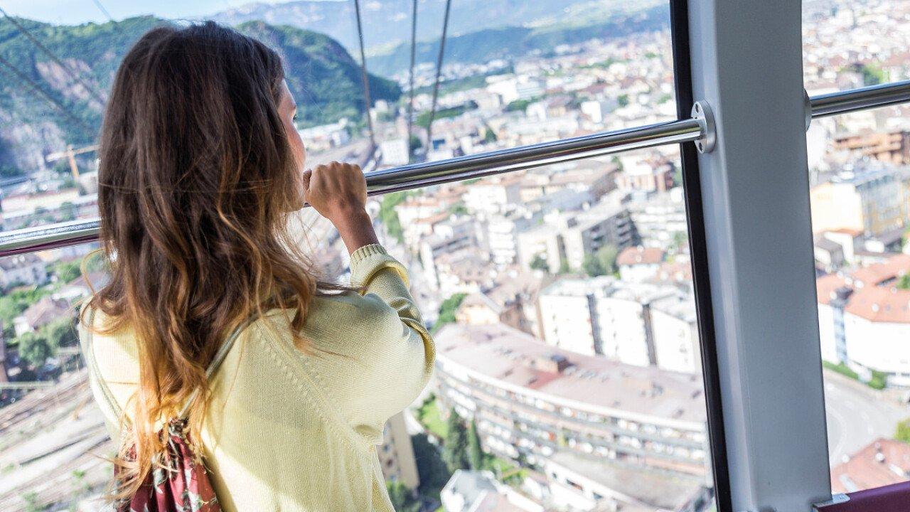 Luoghi da visitare: Funivia del Renon - veduta dall'alto di Bolzano - dolomiti.it