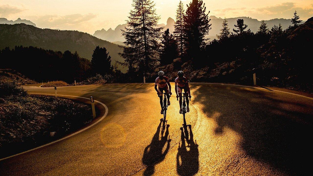 E-bike in Alta Badia in Alto Adige