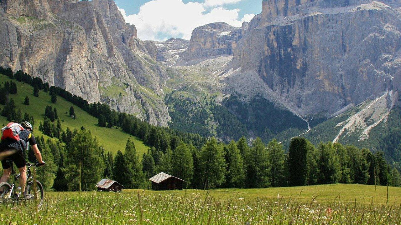 In MTB sulle Dolomiti