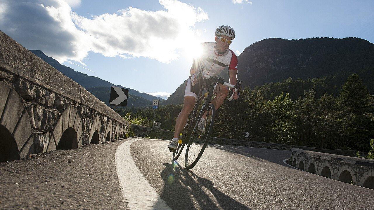 Ciclismo tra i passi delle Dolomiti