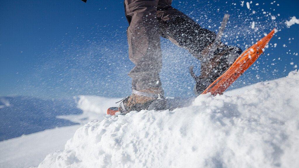 Die Geschichte der Schneeschuhen - cover