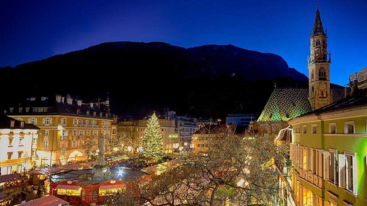 Il Mercatino di Natale di Bolzano in Piazza Walther