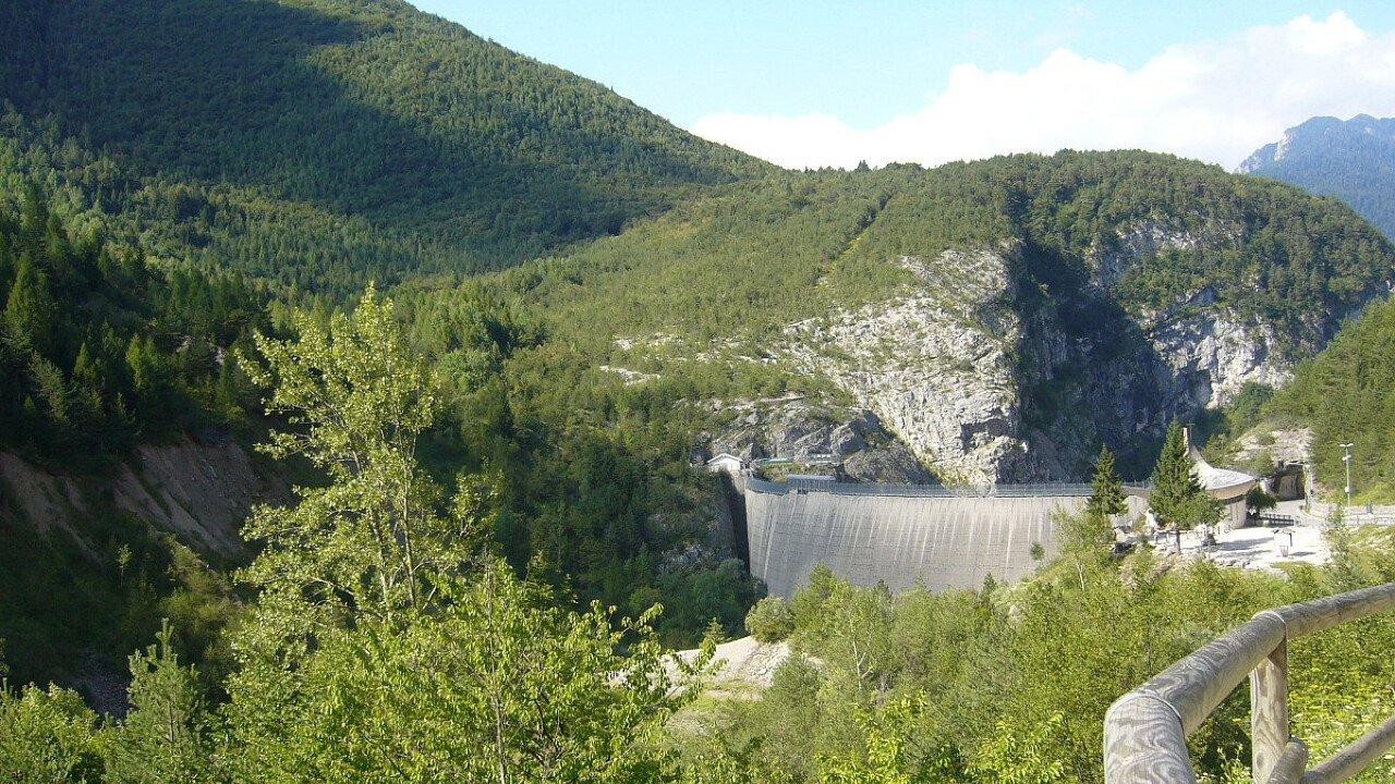 La diga del Vajont in Friuli Venezia Giulia