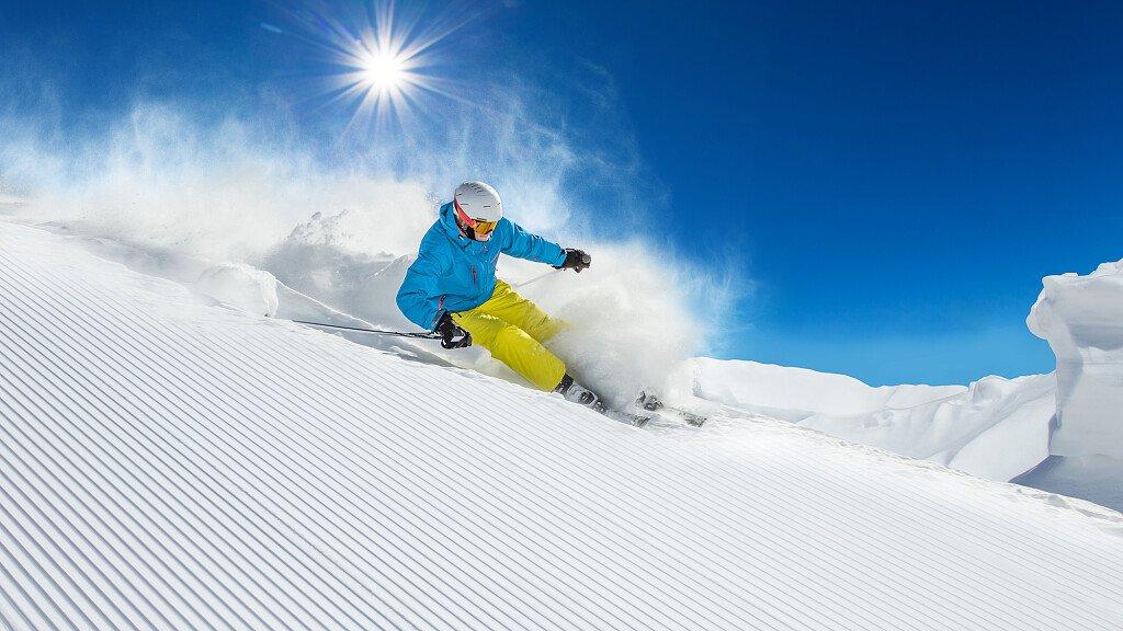 Sicher Skifahren: Richtlinien für Skifahrer - cover