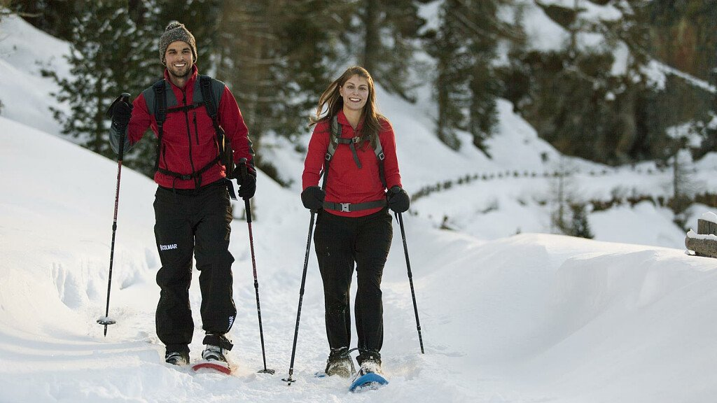 Snowshoe hikes in Passo Resia - cover
