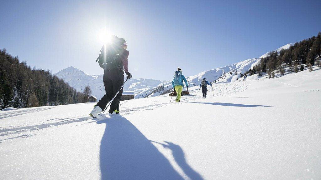 Alpinski und Skifahren abseits der Pisten im Obervinschgau - cover