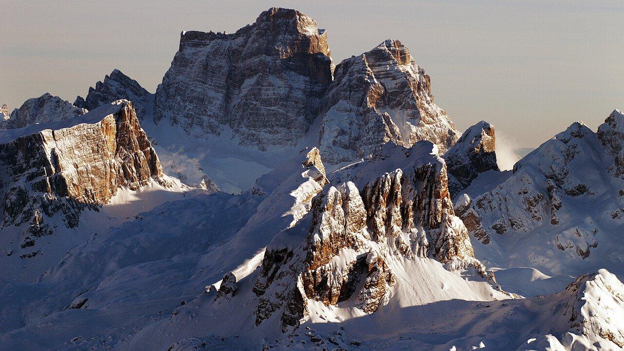 Pelmo e Pelmetto: Dolomiti della Val di Zoldo nel Bellunese