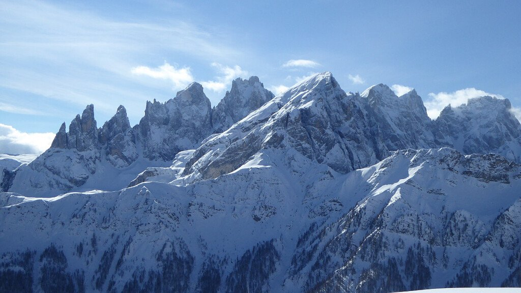 Cross-country in Falcade and Passo S. Pellegrino  - cover
