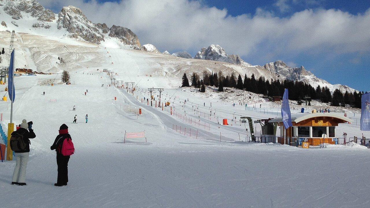 Piste della Ski Area Alpe Lusia - Passo San Pellegrino