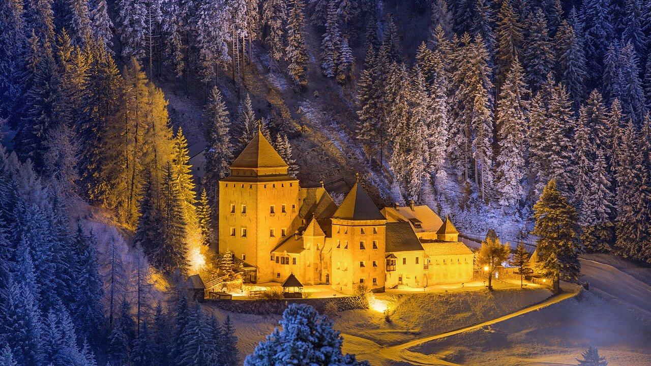 Inverno Castel Gardena