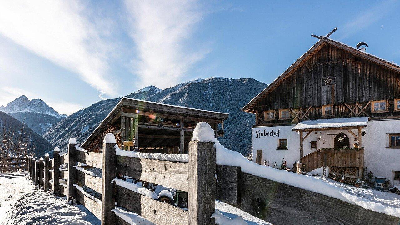 Inverno sull'Alpe di Luson
