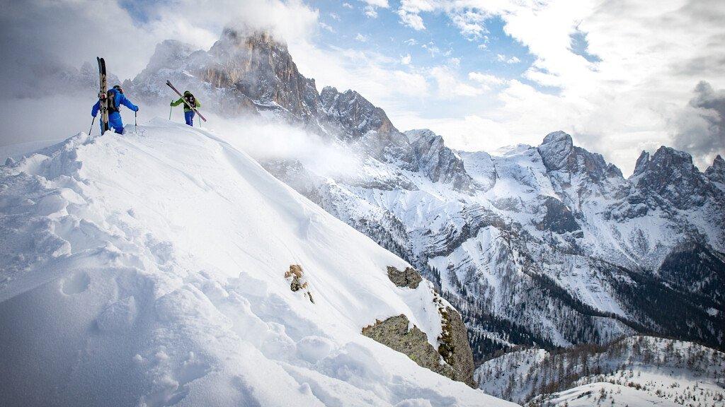 Skitouren in San Martino di Castrozza - cover