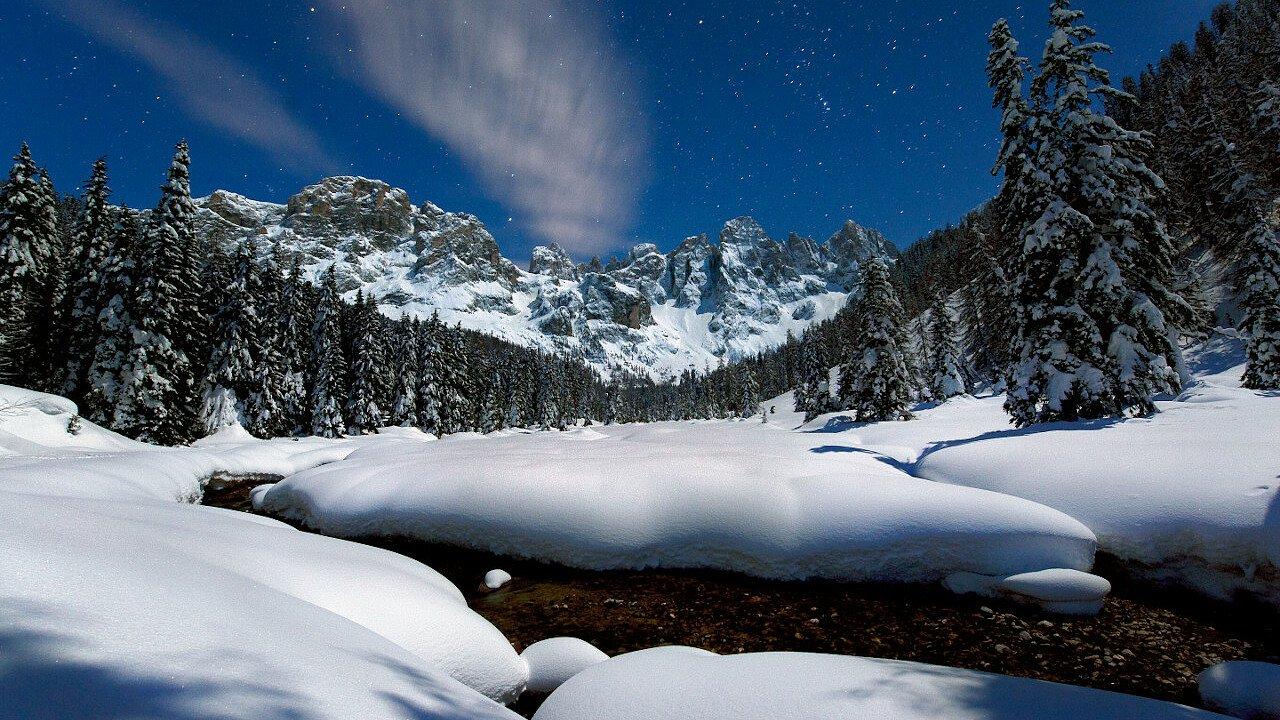 nacht_winter_val_canali_apt_san_martino_passo_rolle_primiero_vanoi