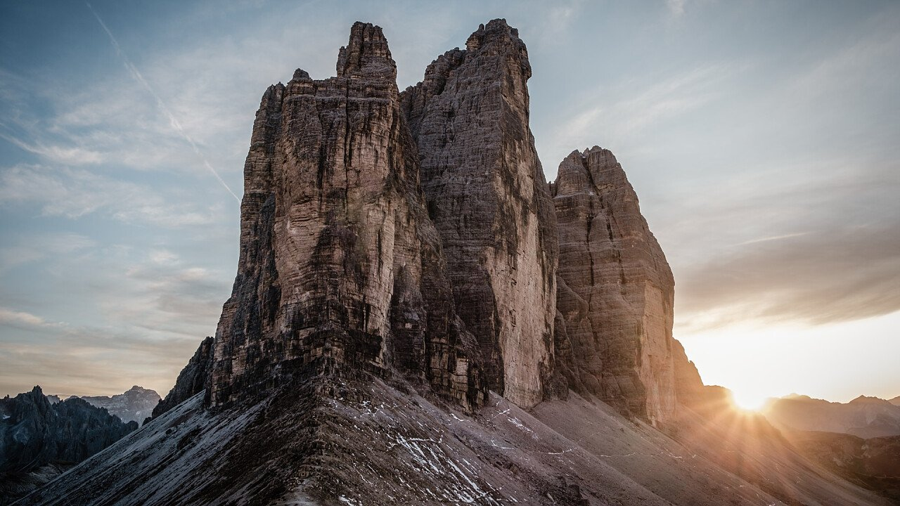 Three Peaks of Dolomites