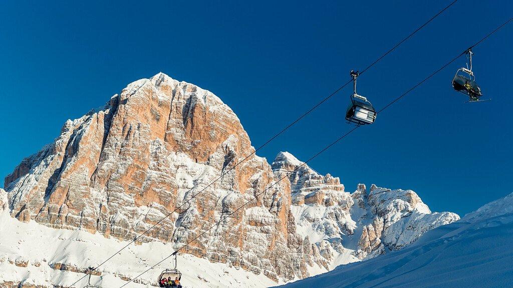 Die Tofane von Cortina d'Ampezzo - cover