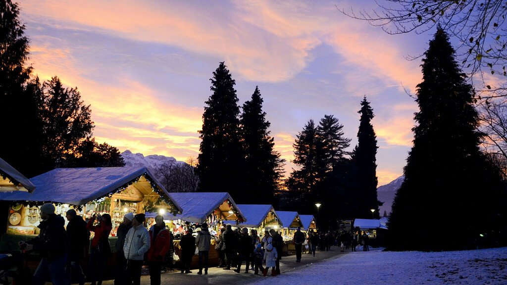 Hasburg Christmas Market in Levico Terme - cover