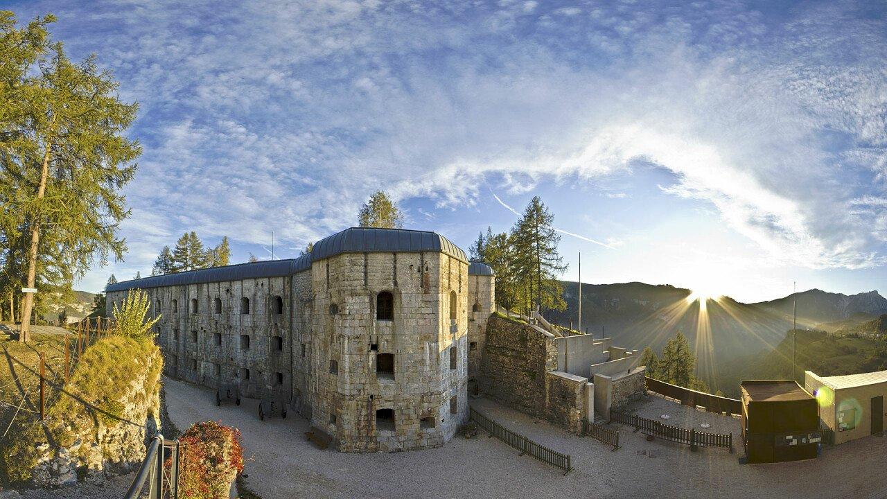 Forte Belvedere a Lavarone