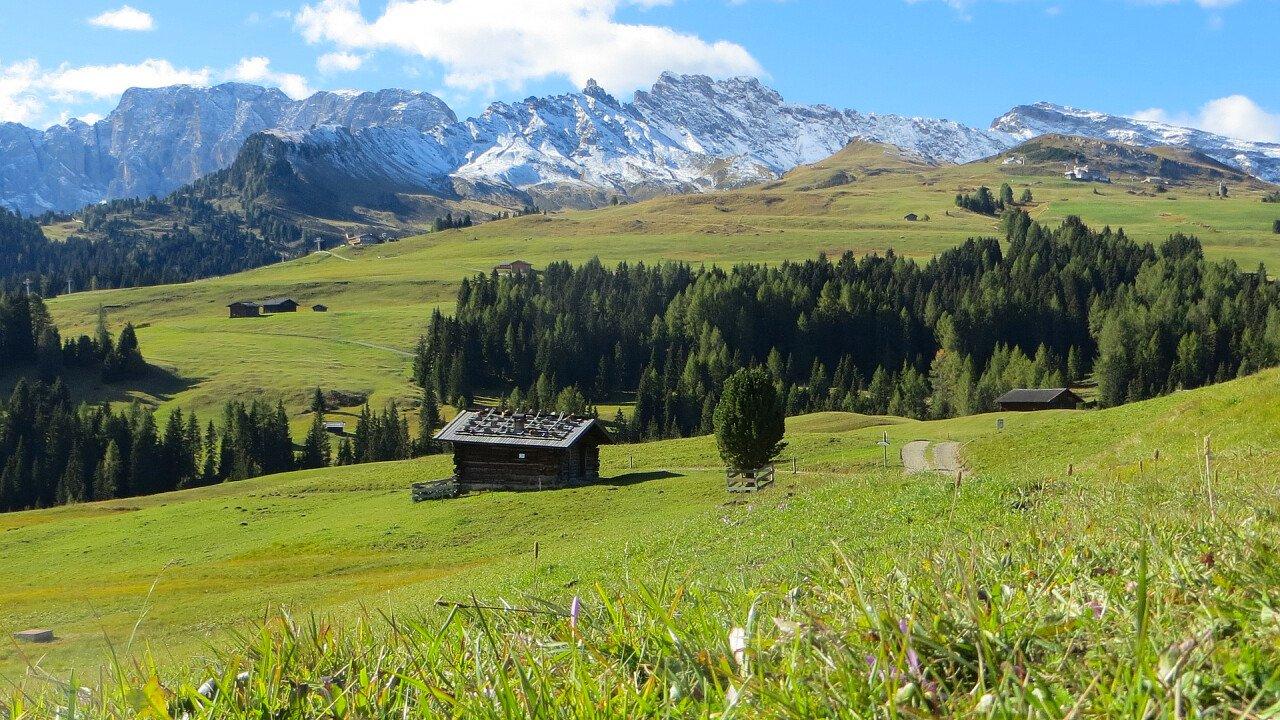 Alpe di Siusi in primavera