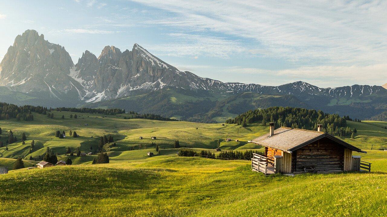 Alpe di Siusi in estate