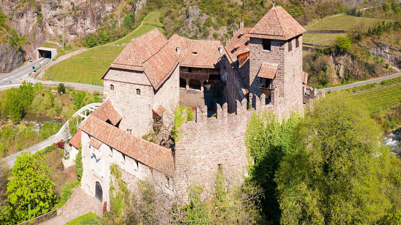 Roncolo castle in Bolzano