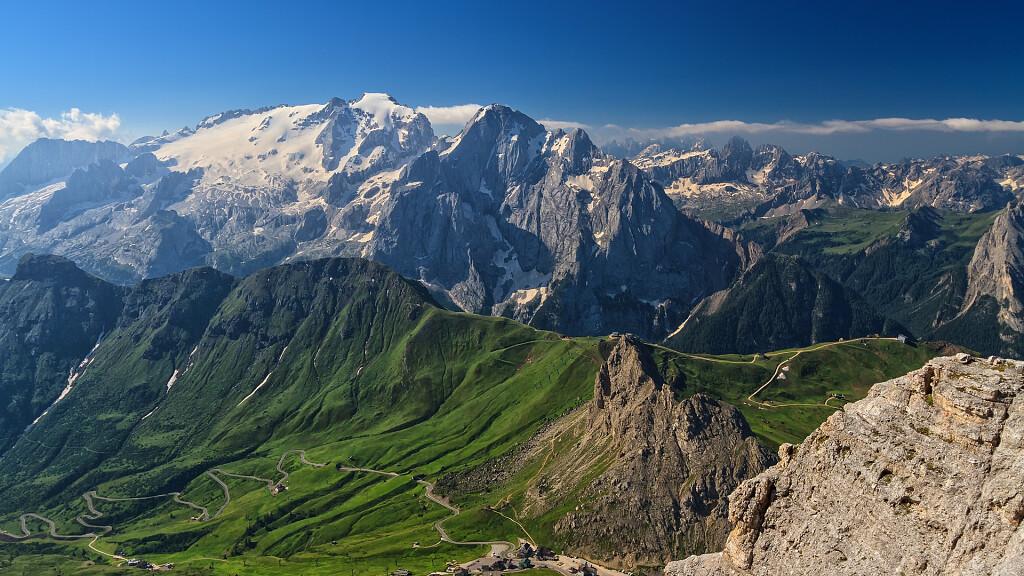 Die Marmolata: die Königin der Dolomiten - cover