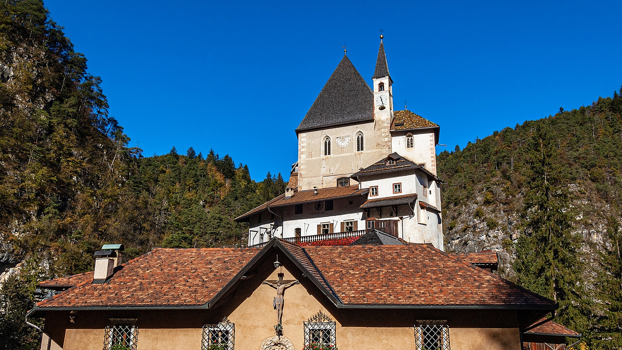 Wallfahrtskirche San Romedio | Nonstal