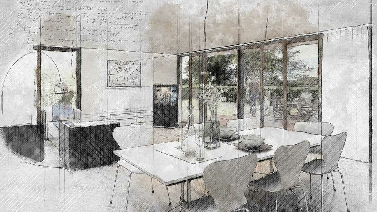 Disegno tecnico case/interni - Rendering architettura di interni