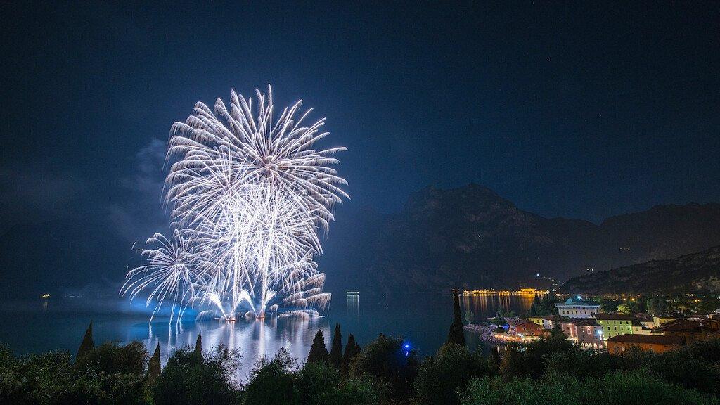 New Year in Riva del Garda  - cover