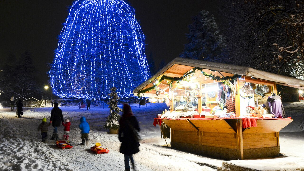 Mercatino di Natale a Levico Terme in Trentino