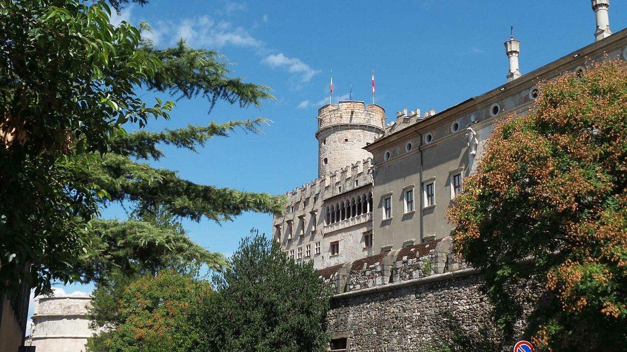 Il Castello del Buonconsiglio nella città di Trento