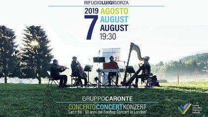 Concerto al Rifugio Luigi Gorza - cover