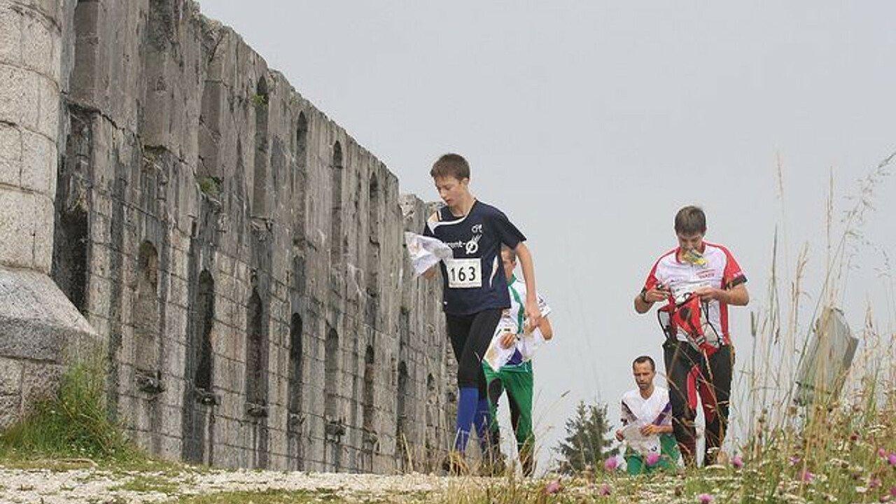O-marathon tra i forti della Grande Guerra di Folgaria in Alpe Cimbra