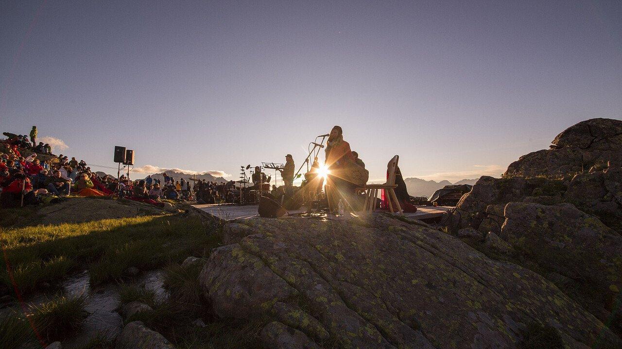 I Suoni delle Dolomiti - Alba delle Dolomiti sul Col Margherita