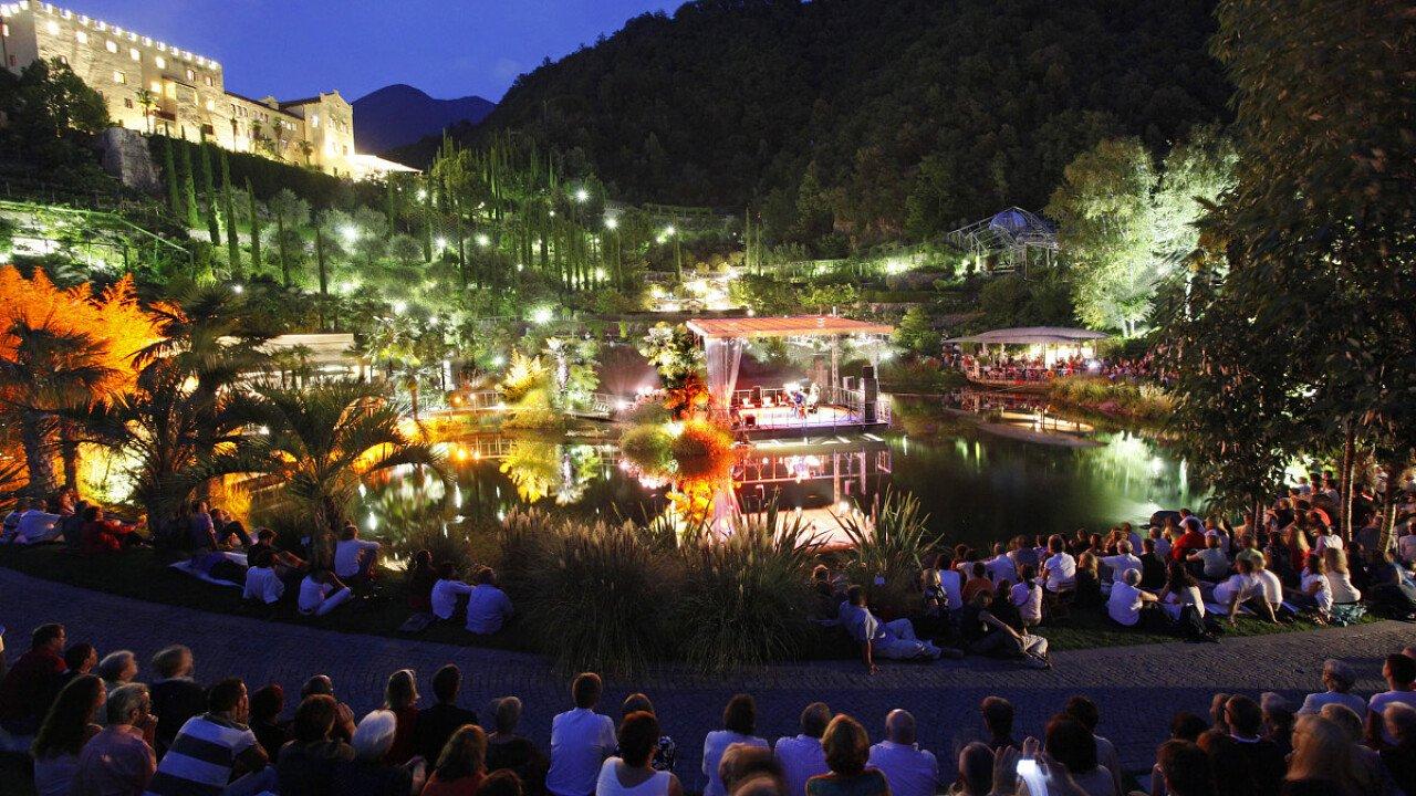 World Music Festival ai Giardini di Sissi di Merano in Alto Adige