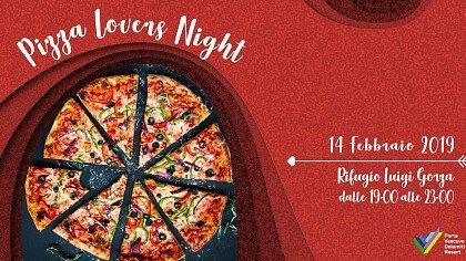 Pizza lovers night: San Valentino al Rifugio Gorza - cover