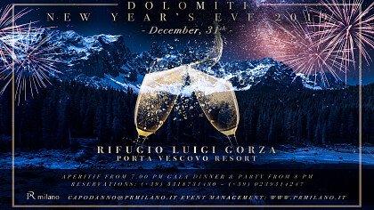 Capodanno al Rifugio Luigi Gorza - cover