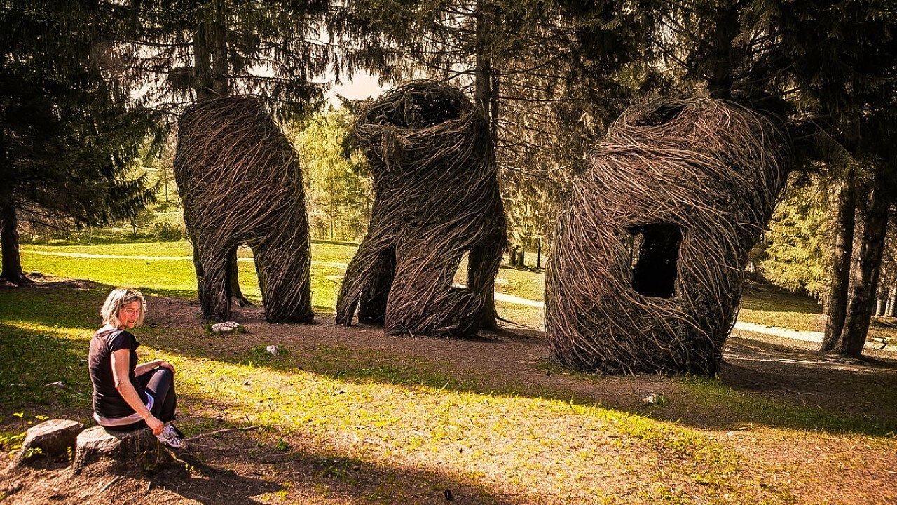 Arte Sella vicino a Borgo Valsugana in Trentino