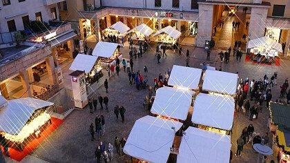 Weihnachtsmarkt in Trient - cover