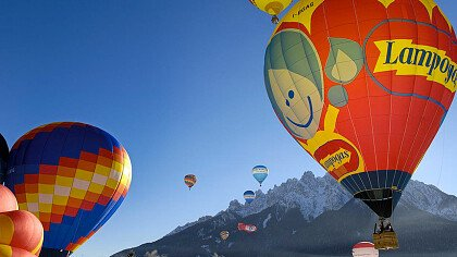 Dolomiti Balloonfestival - cover