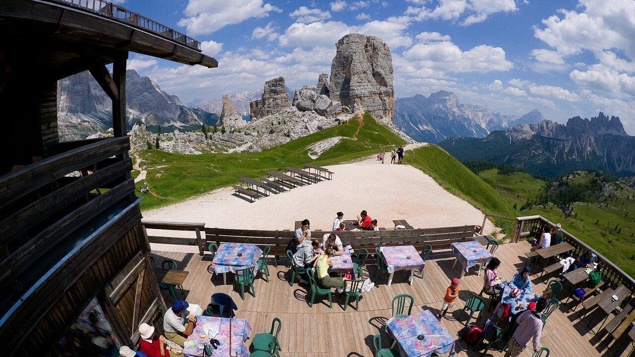 Cortina d'Ampezzo - Dolomiti UNESCO - Cinque Torri | www.bandion.it