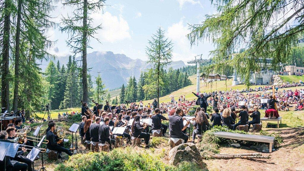 """""""LA MIA TERRA"""" musiche di Morricone tra le Dolomiti - cover"""