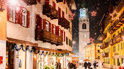 Carnival in Cortina d'Ampezzo - cover