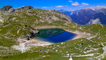 Calendario gite CAI - Val di Zoldo - cover